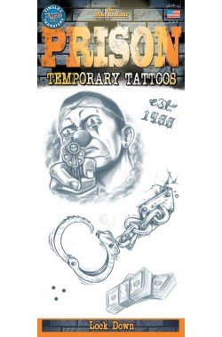 Prison Tattoo Lock Down